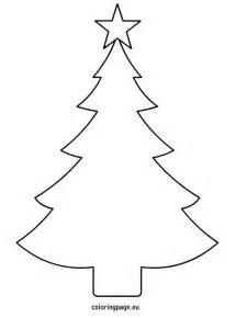 Christmas tree template printable plantillas templates pinterest