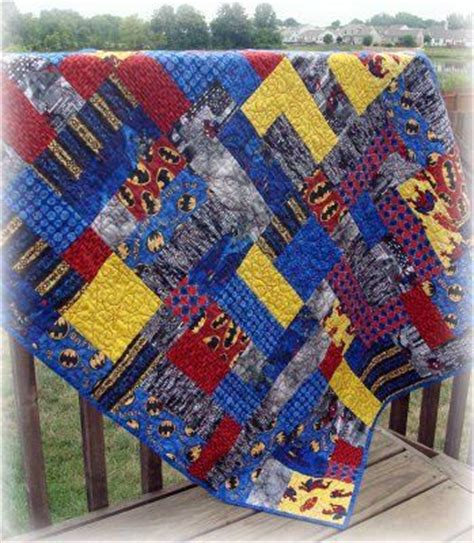 spiderman brick pattern super hero quilt batman superman spiderman awesome