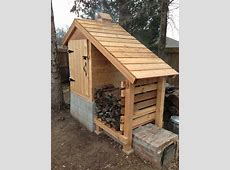 DIY Cedar Smokehouse Rick Joy Plans