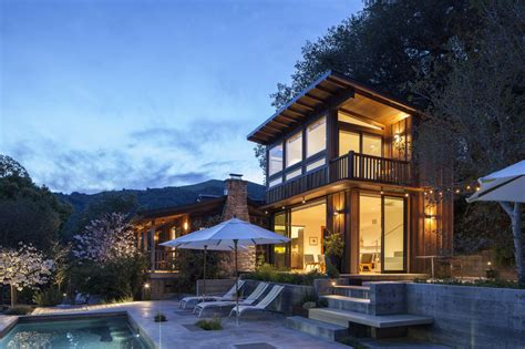 cottage montagna cottage expansion uses local woods to compliment mountain