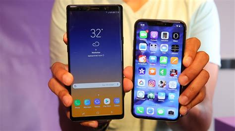galaxy note   iphone      video cnet