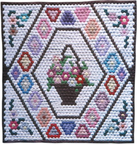 Patchwork Natives - hexagon quilts american indian and hawaiian