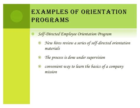 induction and orientation objectives 49294441 induction and orientation