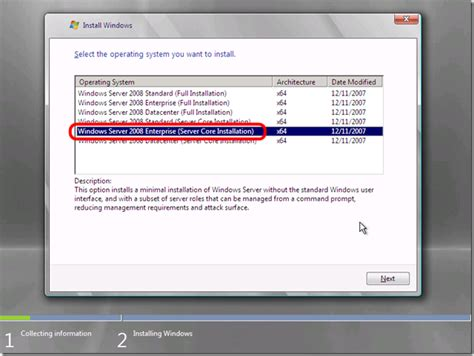 installing xp on windows server 2008 r2 windows server 2008 r2 core introducing sconfig