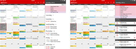 Aaps Calendar Best Calendar Apps For Fantastical 2