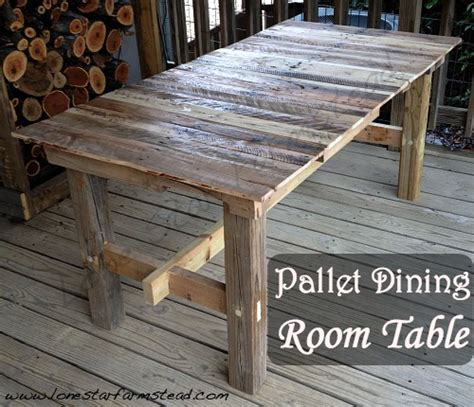 Dining Room Table Made From Pallets Pallet Dining Room Table Best 25 Pallet Dining Tables Ideas On Table And Bench