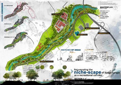 Landscape Thesis Landscape Architecture Design Thesis Presentation Boards
