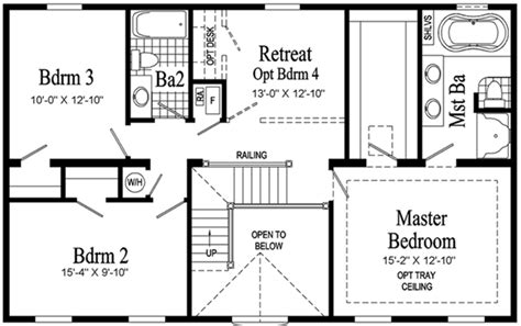 second story floor plans second story house plans addition house design plans