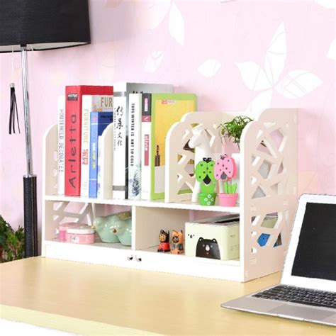 multifunction desktop storage rack ikea bookcase simple