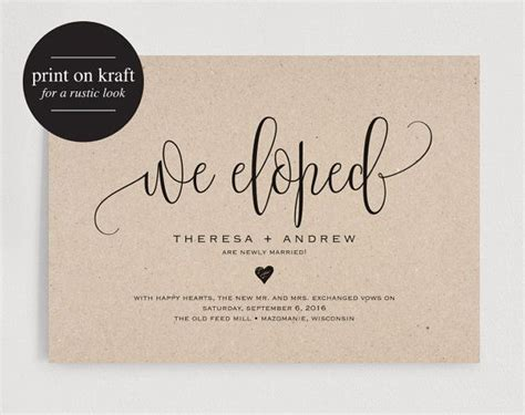 Wedding Announcement Speech by 1000 Ideas About Wedding Announcements On