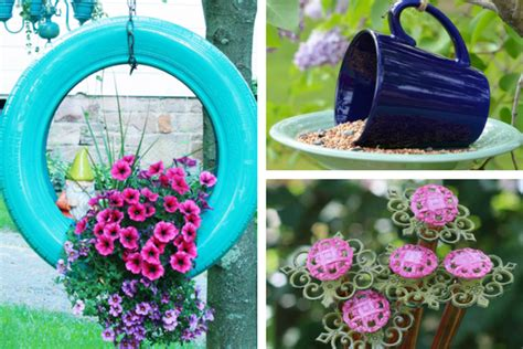 gardening crafts for 20 beautiful garden crafts to make with recycled