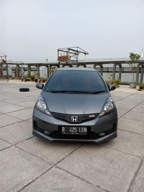 Alarm Mobil Honda Jazz Rs honda jazz rs matic 2013 grey mobilbekas