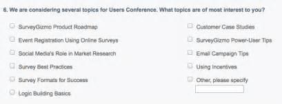 new quantitative research questions in surveys