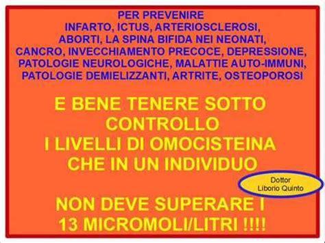 prevenzione alimentare omocisteina alta malattie e prevenzione alimentare