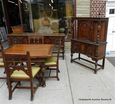 1930 s jacobean dining room set dining rooms