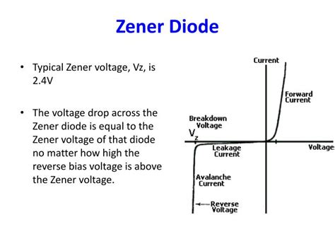 zener diode function and uses ppt lecture 4 diode led zener diode diode logic powerpoint presentation id 2771152