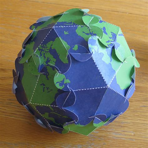 Earth Day Paper Crafts - earth day 2009 papercraft flickr photo