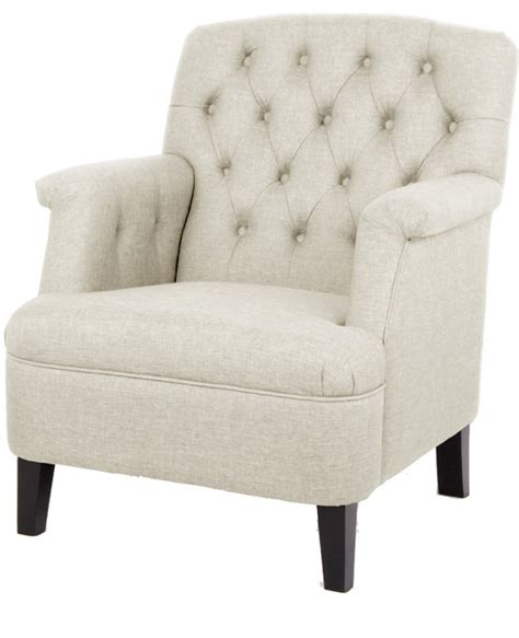 Armchair Savers by Jester Classic Retro Beige Fabric Upholstered Button