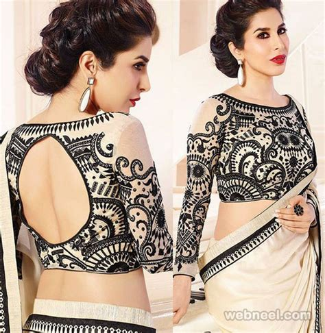 Lika Blouse 50 different types of blouse designs patterns designer