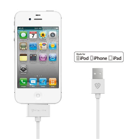 ipod touch 4 charger stalion 174 usb sync data cable charger cord for apple