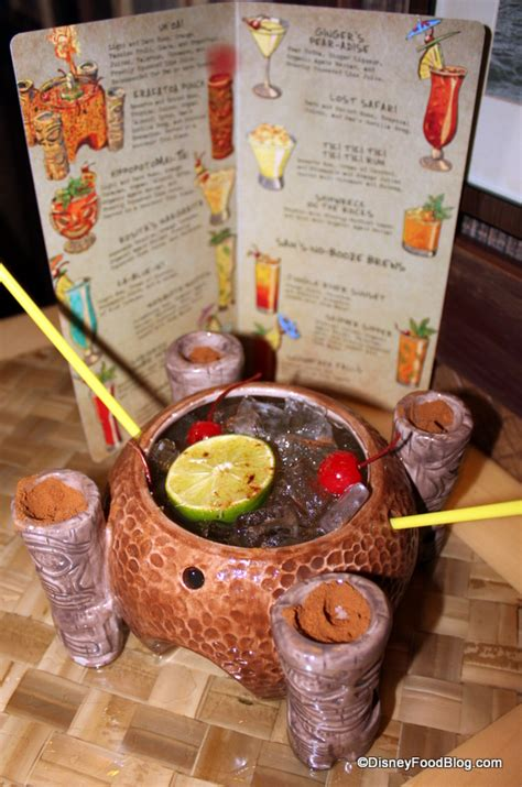 Is Uh Not Swallowing Uh Food by Review Trader Sam S Enchanted Tiki Bar The Disney Food