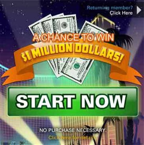 One Million Dollar Sweepstakes - vegasworld com vegas world one million dollar sweepstakes