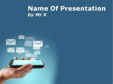 powerpoint templates computer theme smartphone and mobile applications powerpoint presentation