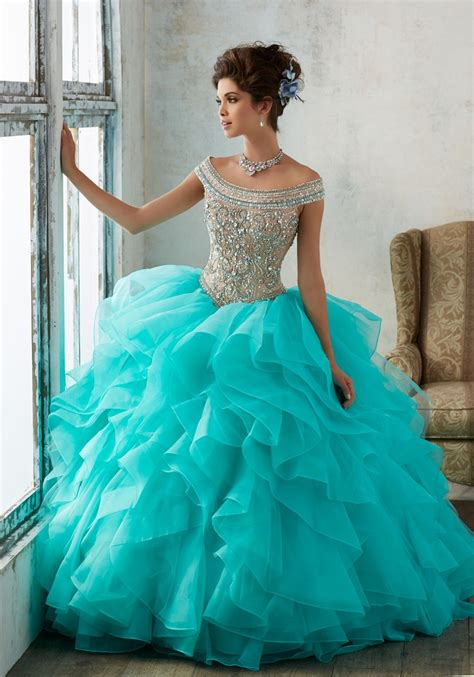 Mori Lee Vizcaya 89138 Dress   MadameBridal.com