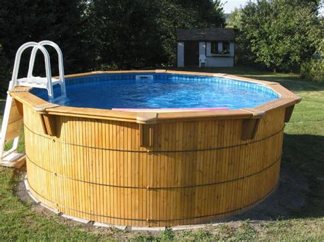 aqua bois wood  ground pools brochure amazone
