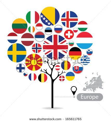 intern europe flag tree european flags trees flags and