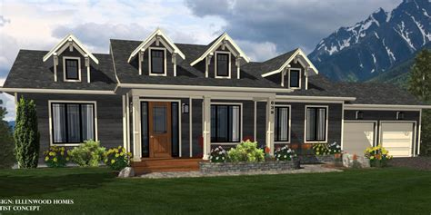 mountain view home plans ellenwood homes