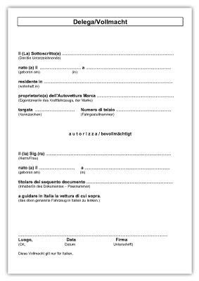 Kfz Versicherung Abmelden Vollmacht by Downloads