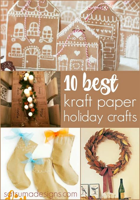 kraft paper crafts 10 best kraft paper crafts satsuma designs