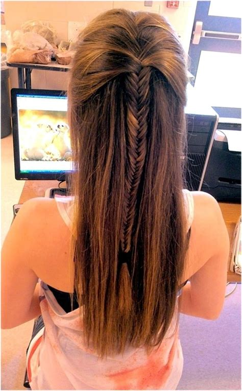 braided hairstyles long straight hair 10 fishtail braid ideas for long hair popular haircuts