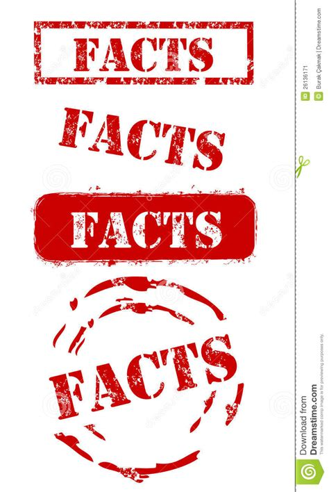 image facts facts st set stock image image 26136171