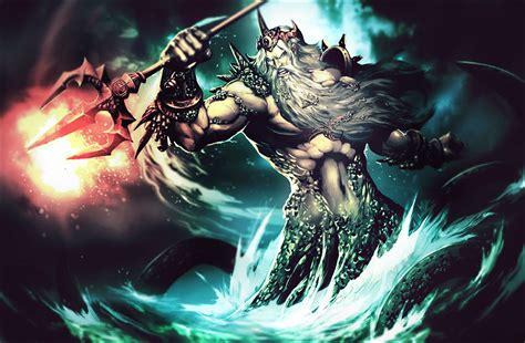 imagenes mitologicas de zeus mitologia poseidon