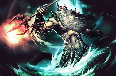imagenes mitologicas de dioses mitologia poseidon