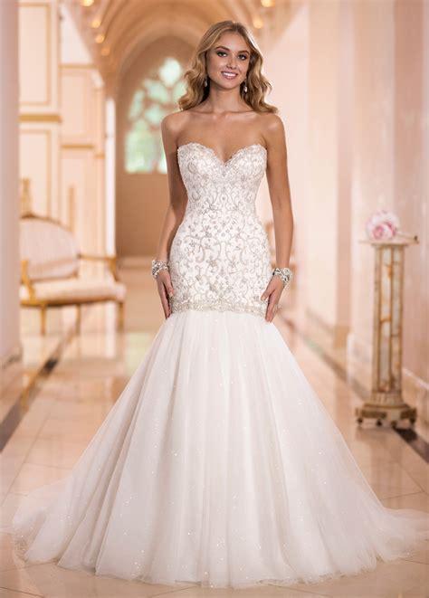 traumhafte hochzeitskleider vestidos de novia corte sirena espalda descubierta
