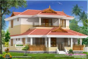 Home Design Kerala Traditional beautiful traditional home elevation kerala home design and floor