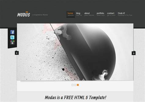 web layout css templates 30 free and premium html css responsive website templates