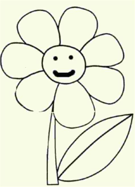 flores para dibujar faciles pintar im genes dibujos para colorear dibujos infantiles para pintar y