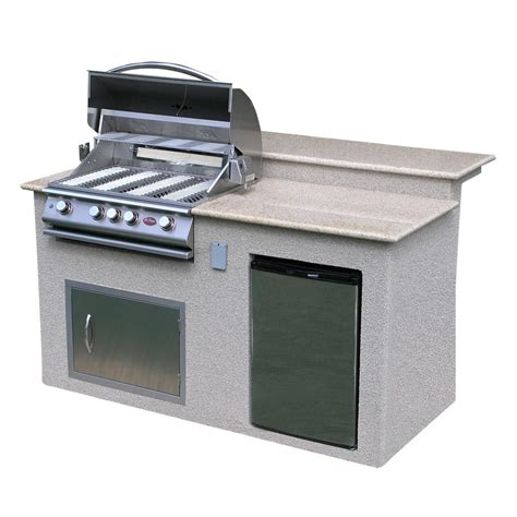 outdoor kitchen island designs cal outdoor kitchen 4 burner barbecue grill island