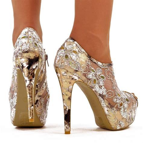 cinderella leopard platform high heel shoes worldwide