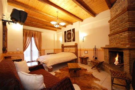 Hotels With Fireplace And In Room by Anesis Hotel Rooms Apartments Kalavryta Kalavrita