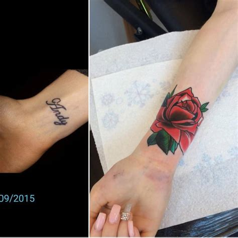 wrist tattoo art traditional on the right inner wrist