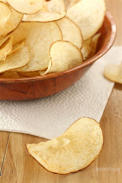Handmade Crisps - salt and vinegar potato chips