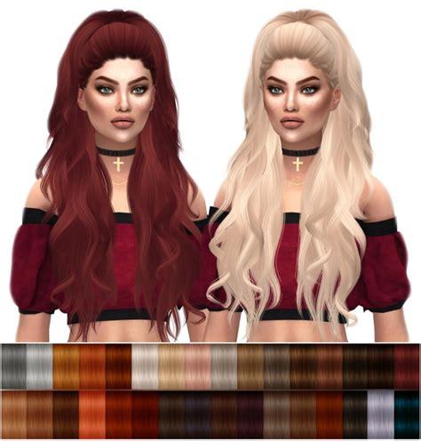 sims 4 custom content hair anto atenea natural hair recolors at kenzar sims 187 sims 4