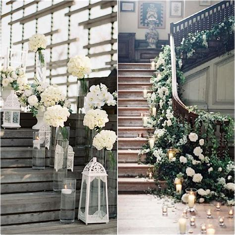Banister Garland Ideas Wedding Ideas 19 Beautiful Ways To Decorate Your