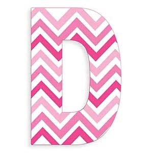 Stupell industries tri pink chevron 18 inch hanging letter quot d quot quot is not