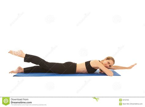 Pilates Mat Series by Pilates Exercise Series Royalty Free Stock Photo Image